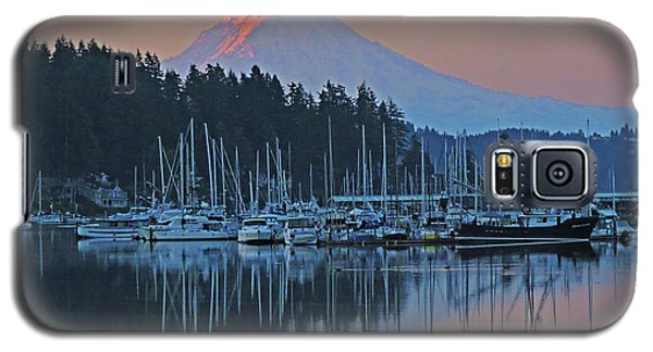 Galaxy S5 Case featuring the photograph Dawn At Gig Harbor by Jack Moskovita