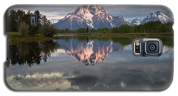 Dawn At Oxbow Bend Galaxy S5 Case