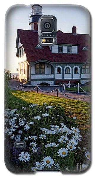 Galaxy S5 Case featuring the photograph Dawn At Portland Head Light, Cape Elizabeth, Maine  -08614 by John Bald