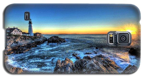 Dawn At Portland Head Lighthouse Galaxy S5 Case