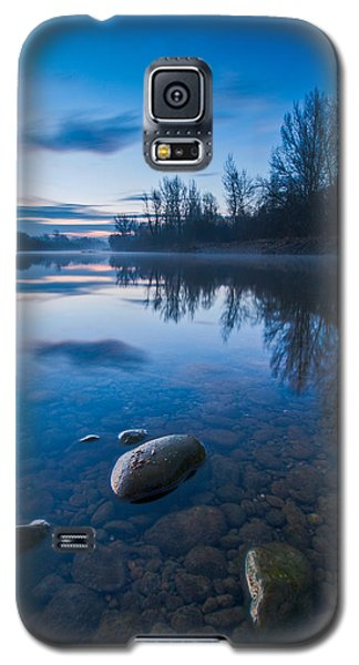 Dawn At River Galaxy S5 Case by Davorin Mance
