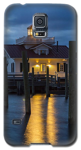 Dawn At Roanoke Marshes Lighthouse Galaxy S5 Case