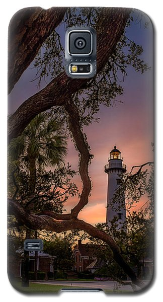 Dawn At Saint Simons Lighthouse Galaxy S5 Case