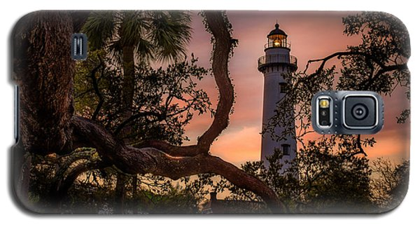 Dawn At Saint Simons Lighthouse - Horizontal Galaxy S5 Case
