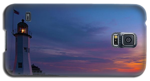 Dawn At Scituate Light Galaxy S5 Case