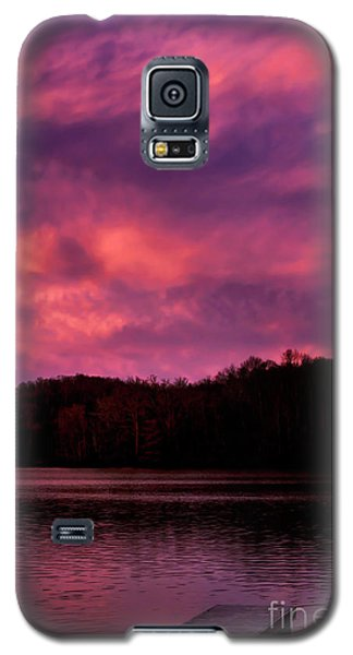 Galaxy S5 Case featuring the photograph Dawn At The Dock by Thomas R Fletcher