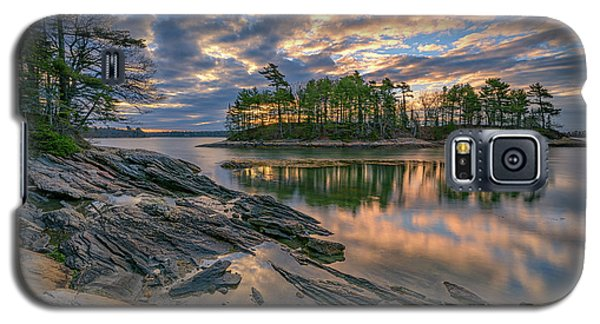 Dawn At Wolfe's Neck Woods Galaxy S5 Case by Rick Berk