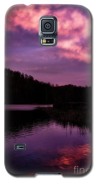 Galaxy S5 Case featuring the photograph Dawn Big Ditch Wildlife Management Area by Thomas R Fletcher