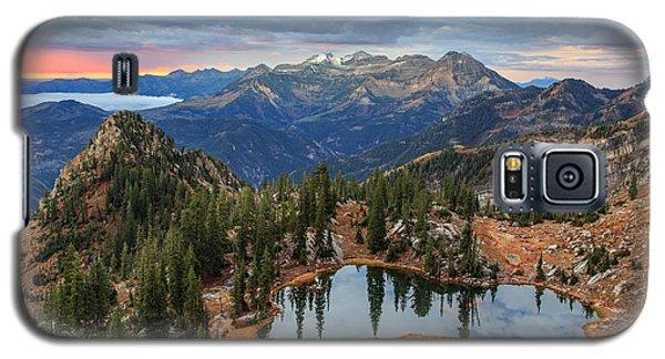 Dawn Glow At Silver Glance Lake. Galaxy S5 Case