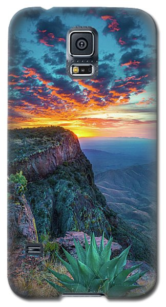Dawn In The Chisos Galaxy S5 Case