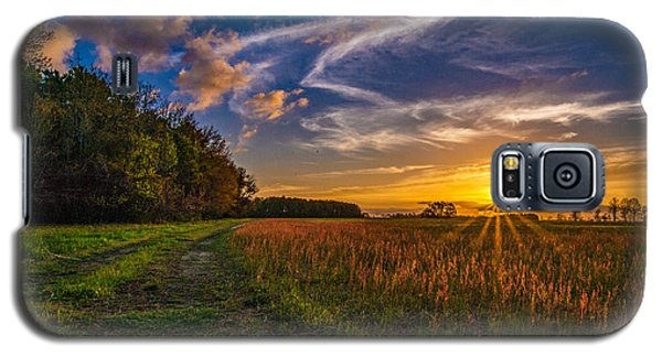 Dawn In The Lower 40 Galaxy S5 Case