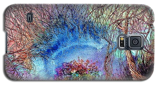 Galaxy S5 Case featuring the painting Dawn Of A Kid by Mikhail Savchenko