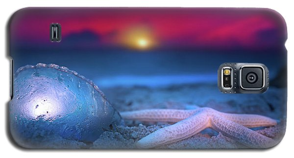 Galaxy S5 Case featuring the photograph Dawn Of The Warriors by Mark Andrew Thomas