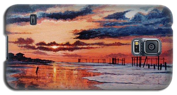 Dawn On Crystal Beach Galaxy S5 Case