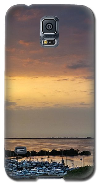 Dawn On The Bay Galaxy S5 Case