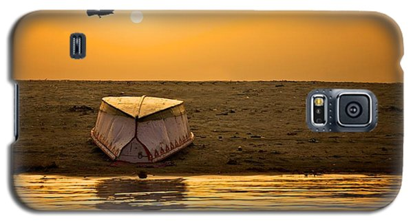Dawn On The Ganga Galaxy S5 Case