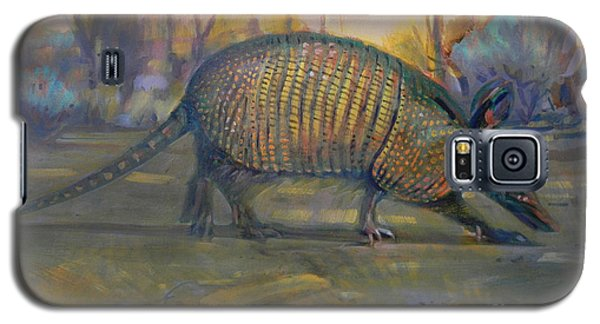 Galaxy S5 Case featuring the painting Dawn Run by Donald Maier