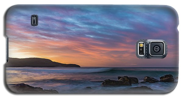 Dawn Seascape With Rocks And Clouds Galaxy S5 Case