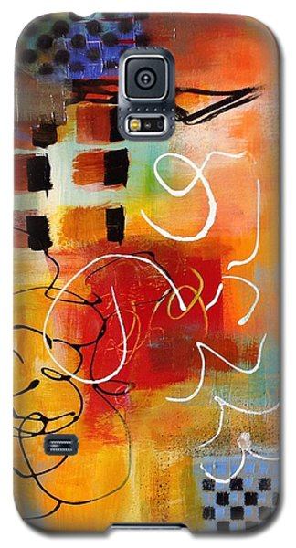 Galaxy S5 Case featuring the painting Day 3...30 In 30 Challenge by Suzzanna Frank