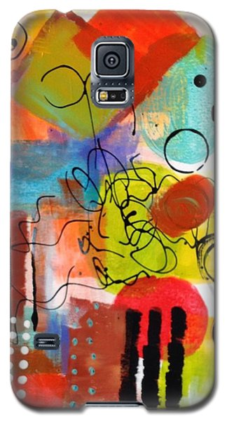 Galaxy S5 Case featuring the painting Day 4...30 In 30 Challenge by Suzzanna Frank