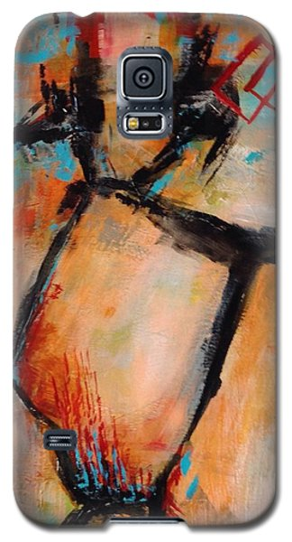 Galaxy S5 Case featuring the painting Day 5...30 In 30 Challenge  by Suzzanna Frank