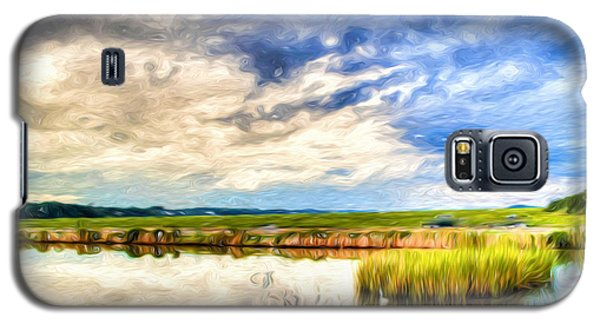 Day At The Marsh Galaxy S5 Case