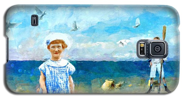 Day At The Shore Galaxy S5 Case by Alexis Rotella