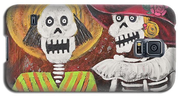 Day Of The Dead Couple Galaxy S5 Case