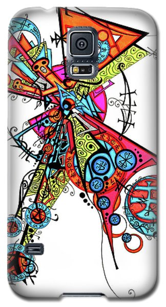 Day Of The Dead Cross Galaxy S5 Case