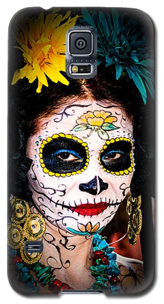 Day Of The Dead Eyes Galaxy S5 Case