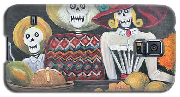 Day Of The Dead Family Galaxy S5 Case