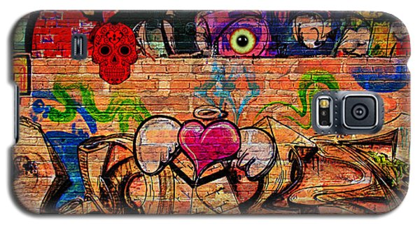 Day Of The Dead Street Graffiti Galaxy S5 Case