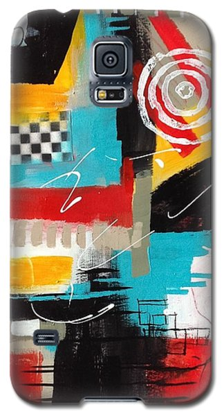 Galaxy S5 Case featuring the painting Day Six...30 In 30 Challenge  by Suzzanna Frank