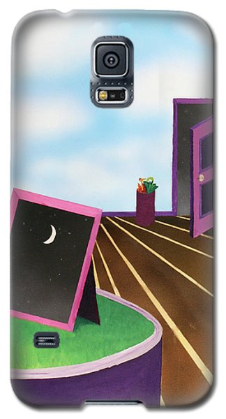 Galaxy S5 Case featuring the painting Day by Thomas Blood