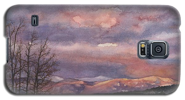 Galaxy S5 Case featuring the painting Daylight's Last Blush by Anne Gifford