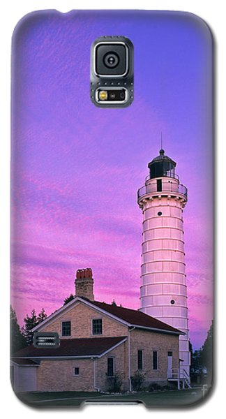 Days End At Cana Island Lighthouse - Fm000003 Galaxy S5 Case