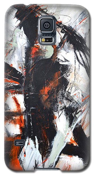 Galaxy S5 Case featuring the painting Day's End by Cher Devereaux