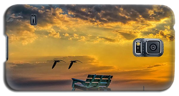 Days End In Cape May Nj Galaxy S5 Case