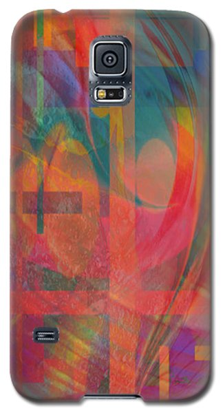 Galaxy S5 Case featuring the painting Days Of Summer by Kevin Caudill