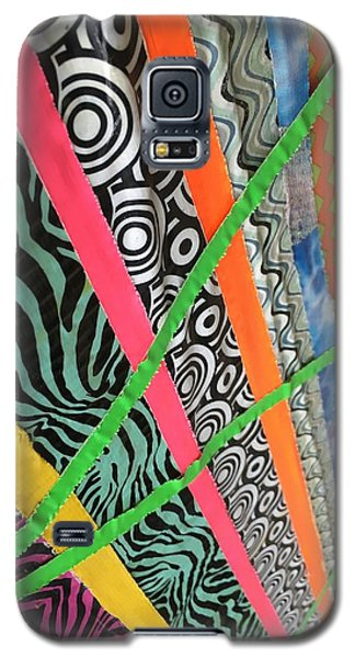 Dazzling Delirious Duct Tape Diagonals Galaxy S5 Case