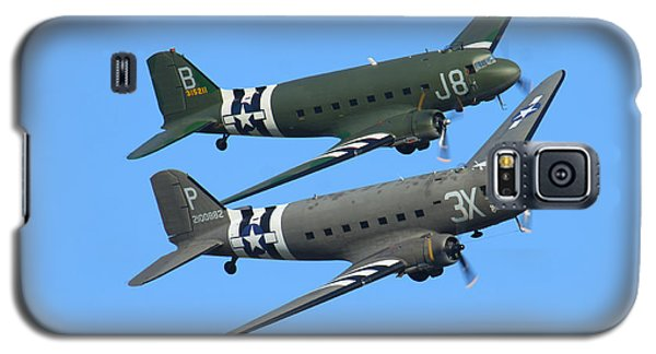 Dc3 Dakota C47 Skytrain Galaxy S5 Case by Ken Brannen