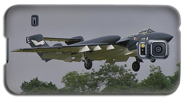 Galaxy S5 Case featuring the photograph De Havilland Dh110 Sea Vixen  by Tim Beach