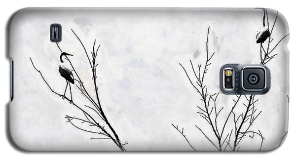 Dead Creek Cranes Galaxy S5 Case