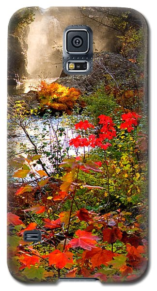 Dead River Falls Foreground Plus Mist 2509 Galaxy S5 Case