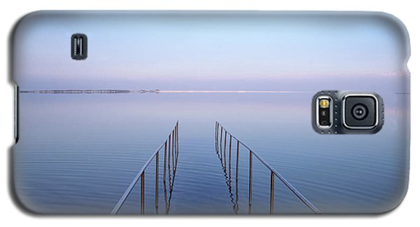 Galaxy S5 Case featuring the photograph The Dead Sea by Yoel Koskas