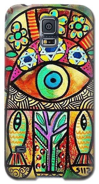 Dead Sea Fish Hamsa Galaxy S5 Case