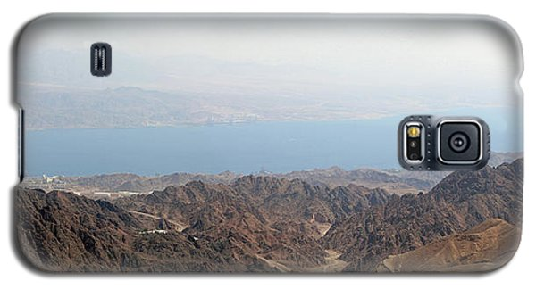 Galaxy S5 Case featuring the photograph Dead Sea-israel by Denise Moore