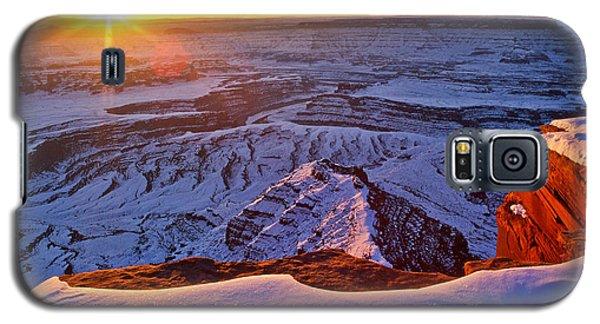 Deadhorse Point Sunburst Galaxy S5 Case