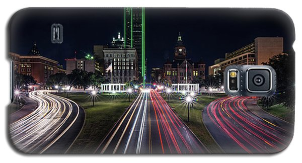 Dealey Plaza Dallas At Night Galaxy S5 Case