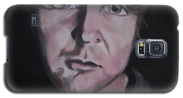 Galaxy S5 Case featuring the painting Dean Ambrose Portrait by Susan Solak